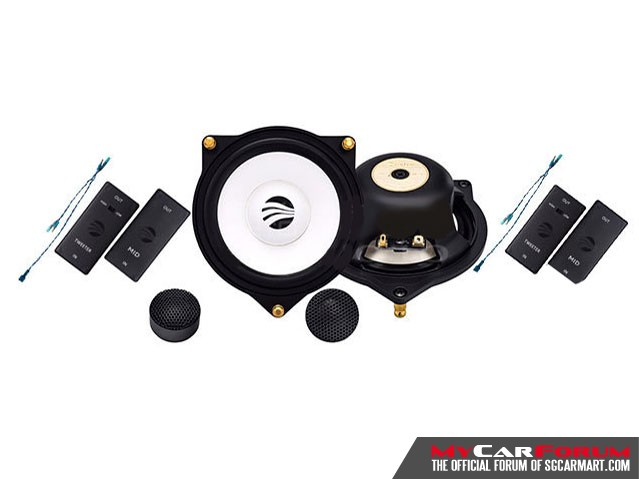 Rainbow MP-S4.2 Mercedes-Benz 2-Way Component Speaker