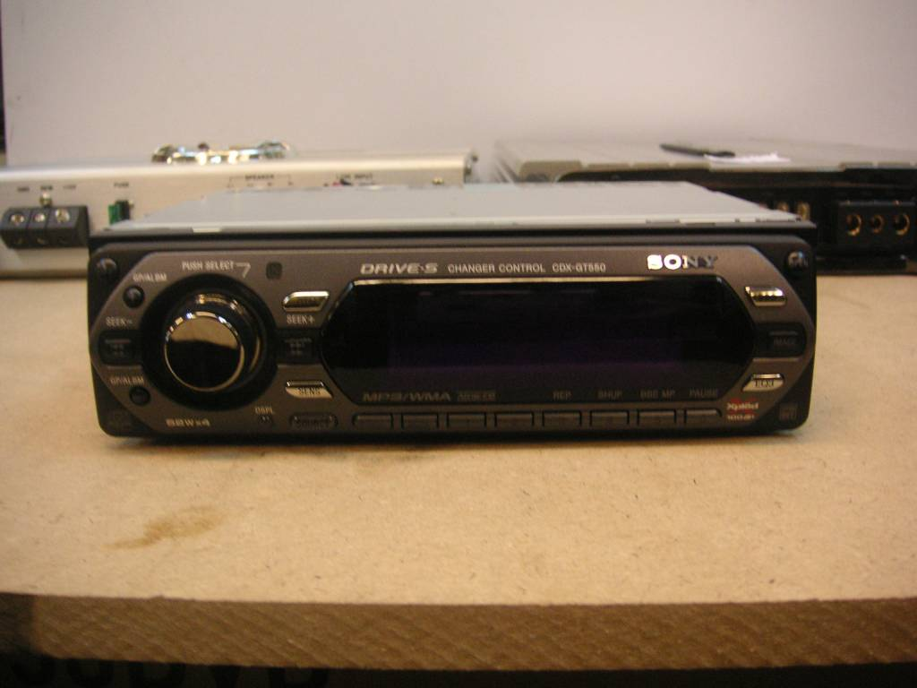 Sony Cdx Gt550 Cd Player For Sale Mcf Marketplace