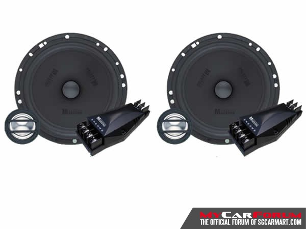 German Maestro CS-6508IV 2 Way Component System With AC-6508 2 Way Coaxial Speaker