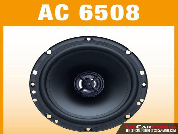 German Maestro AC 6508 2 way Coaxial Speakers