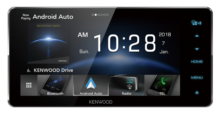 Kenwood DDX-918WS Toyota Touch Screen Multimedia Player