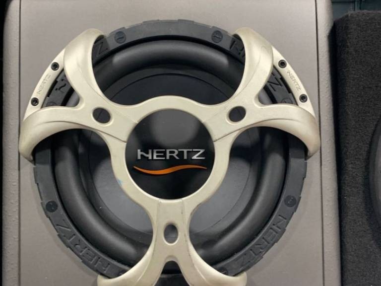 Hertz 10 inch Subwoofer With Box