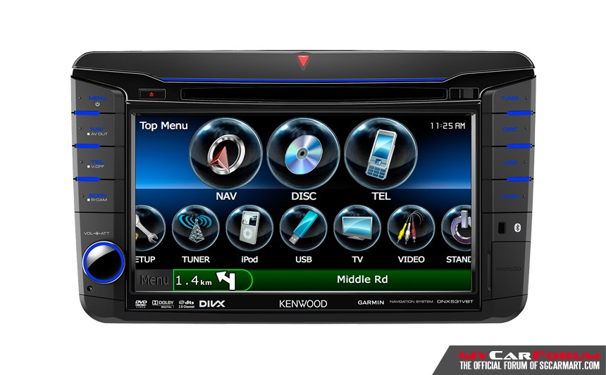Kenwood DNX531VBT Multimedia Player