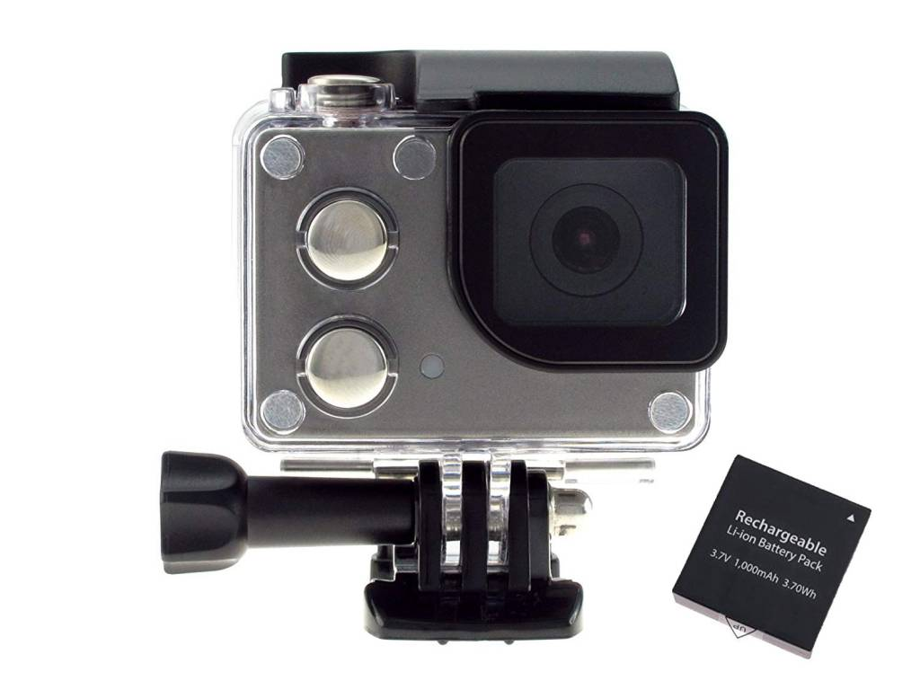ISaw Wing Action Camera Set (With Additional Battery)