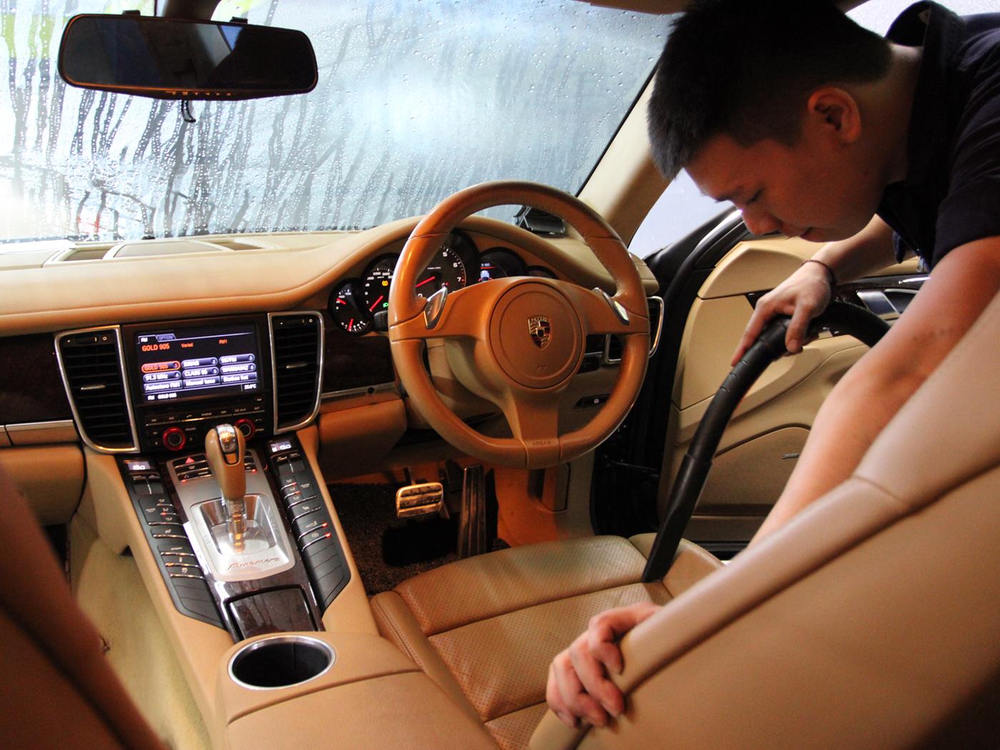 Saniswiss S1 Interior Sanitisation (With Car Wash & Vacuum)
