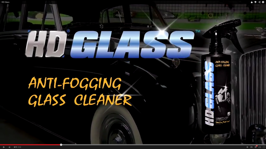 High Definition HD Glass Anti Fog Glass Mirror And Chrome Cleaner Windscreen Care