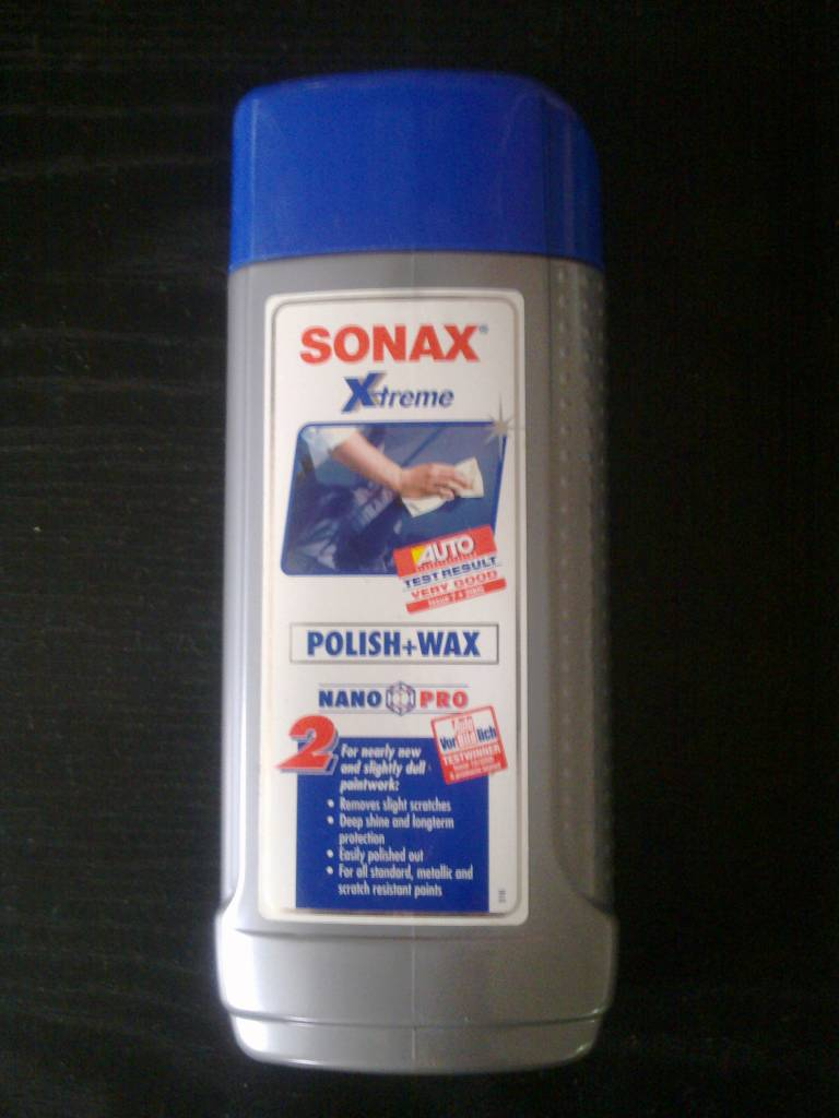 sonax xtreme polish wax 2 nano pro for sale mcf. Black Bedroom Furniture Sets. Home Design Ideas